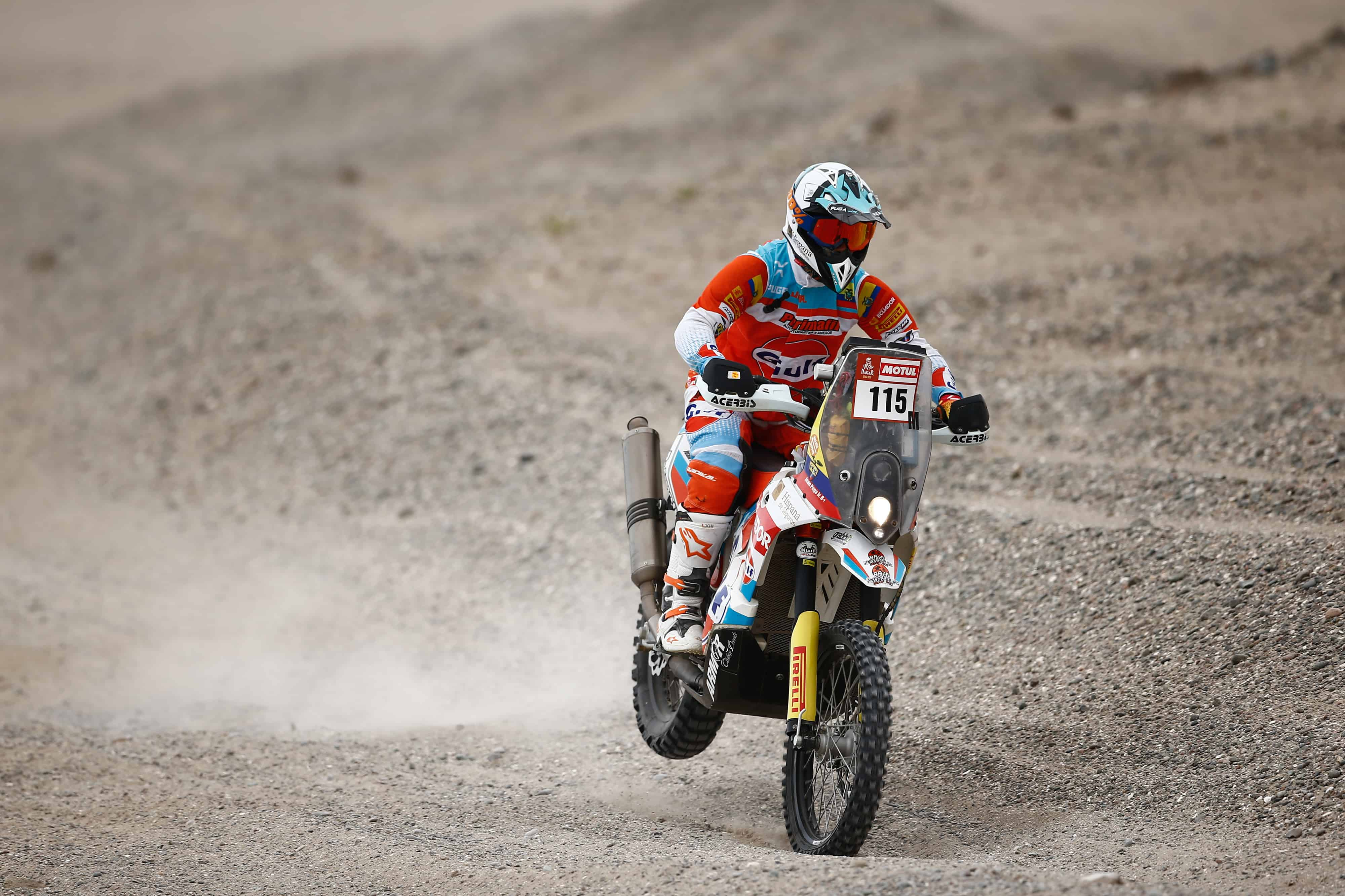 Juan José Puga se convirtió en el primer ecuatoriano en completar el Rally Dakar.